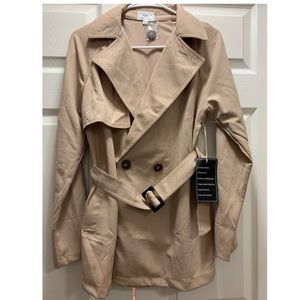 NWT Belted Double-Breasted Jacket